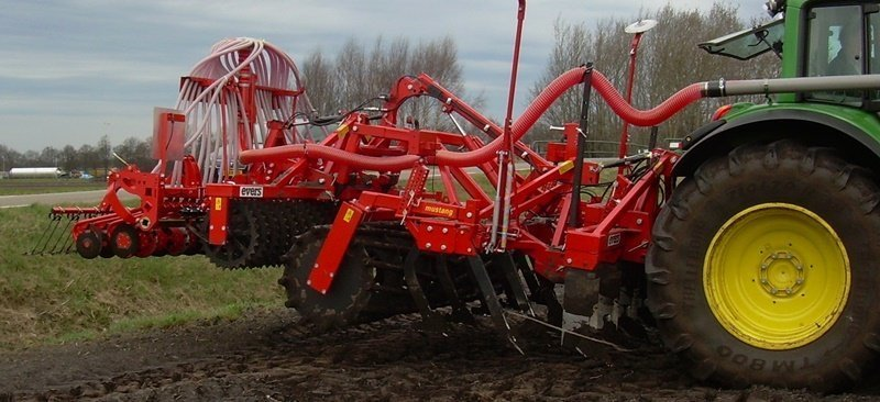 Vaste tand cultivator, type Mustang